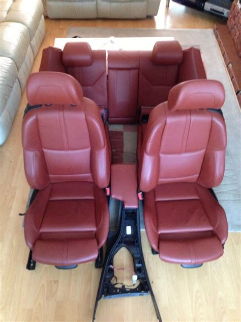 bmw leather upholstery bmw e46 m3 red leather interior wroc awski informator