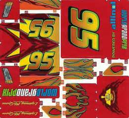 Lightning Mcqueen Car Bed Replacement Stickers Lego 8484 Cars 2 Lightning Mcqueen Sticker Sheet Ebay