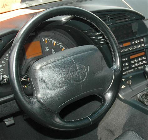 C4 Corvette Interior Upgrades by C4 Corvette 1990 1996 Reproduction Black Leather Steering