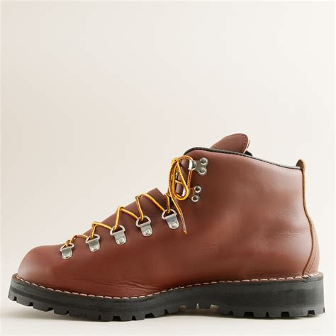 light hiking boots j crew danner 174 mountain light ii hiking boots in brown for