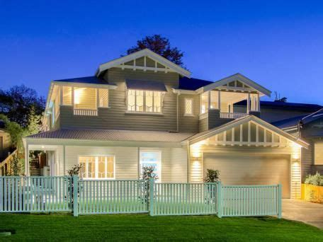 queenslander renovated facade home sweet home