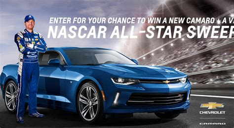 Win A Camaro Sweepstakes - win a 2018 chevy camaro coupe in gm camaro nascar all star sweepstakes