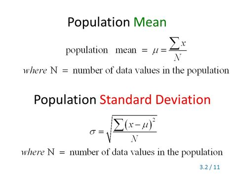 what does section 12 mean section 3 2 measures of variation range standard deviation