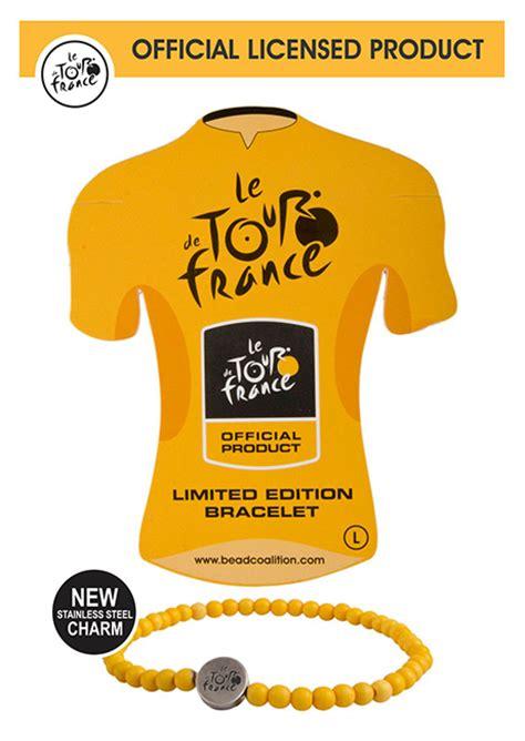 Le Tour de France Yellow Jersey Bracelet   The Bead Coalition   beadcoalition.com