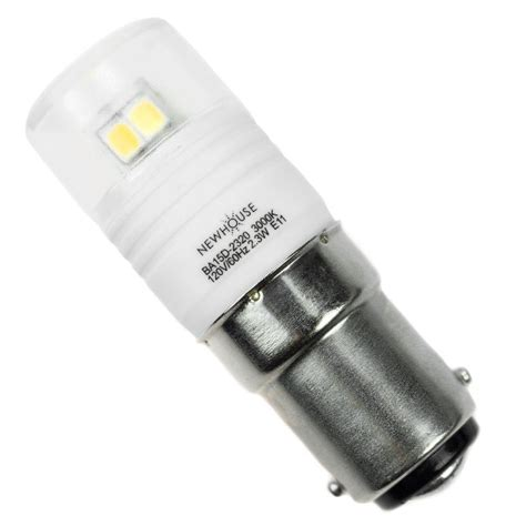 newhouse lighting 20w equivalent soft white ba15d led