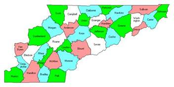 map of east counties east tennessee county trip reports