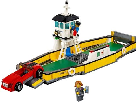 Lego 60119 Ferry City 60119 1 ferry brickset lego set guide and database