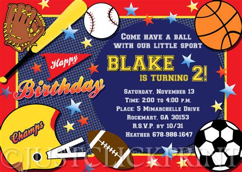 Sports Party Invitations Mickey Mouse Invitations Templates Softball Invitation Template