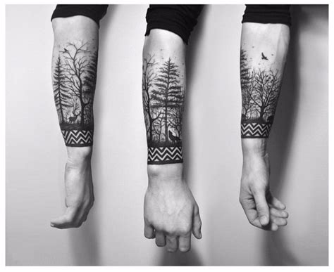 celtic tree of life wrist tattoo black forest tree with celtic wrist band golfian