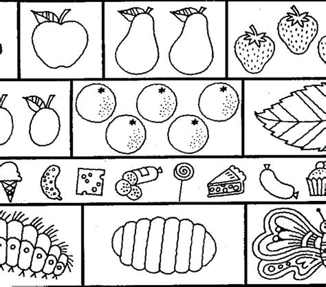 very hungry caterpillar coloring pages pdf caterpillar coloring page the very hungry caterpillar