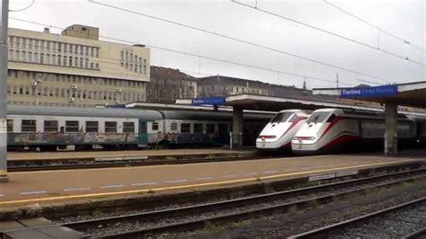 stazione fs verona porta nuova manovra treno con partenze e arrivi stazione di torino