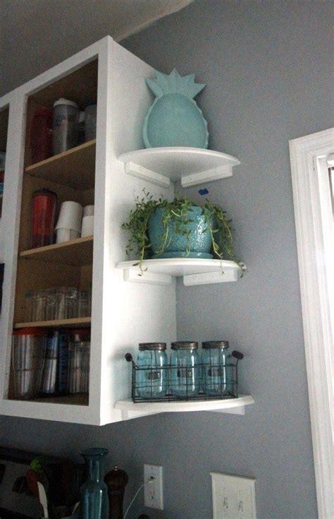 easy open shelving   kitchen easy home decor open