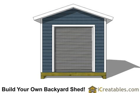 14 x 10 garage door 10x14 shed plans with garage door icreatables