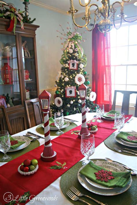 christmas dining room holiday home