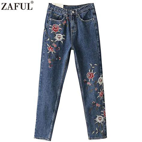 pattern in jeans online get cheap flower pattern jeans aliexpress com