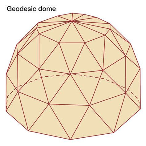 geodesic dome template stock illustration geodesic dome