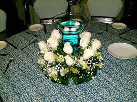 hermoso centro de mesa para boda youtube como hacer centros de mesa para bodas youtube