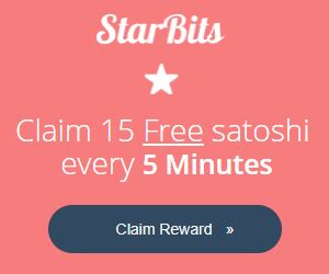 Robinet Bitcoin by Starbits Faucet 224 6 Bitcoin Toutes Les 5 Minutes Moon