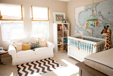 sofa bed for baby nursery boy nursery contemporary nursery erika brechtel