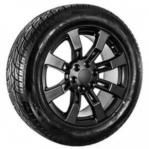 22 Inch Rims And Tires For Truck 22 Inch Black Gmc Truck Wheel Tires Oemwheelplus