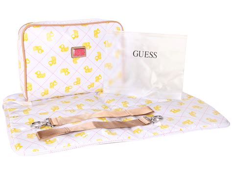 Guess Who The Lambskin Bay Bag by Guess Me Bag Pink Shipped Free At Zappos
