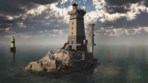 phare la vieille lighthouse 3d phares 3d