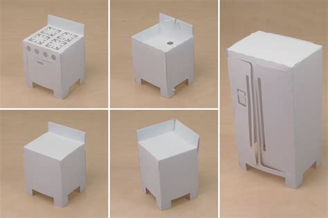 How To Make Paper Dollhouse Furniture - best photos of paper dollhouse furniture templates free