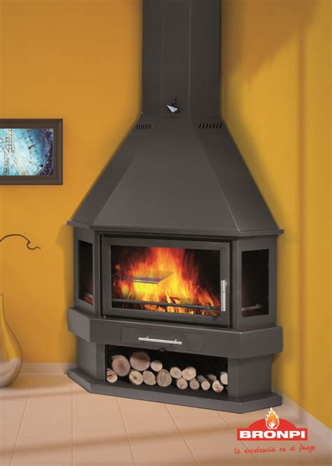 Corner Wood Burning Fireplaces by 25 Best Ideas About Freestanding Stoves On