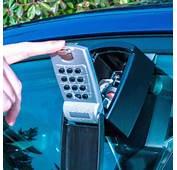 Car Window Lock Box