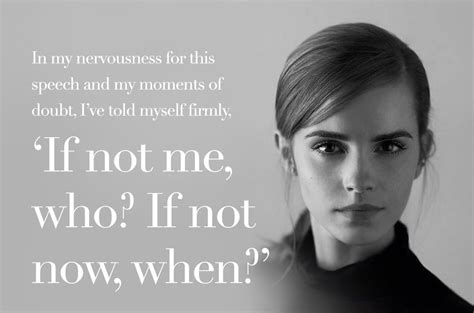 emma watson quote if not now when emma watson quotes weneedfun
