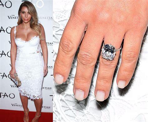 kim kardashian engagement ring cost kanye kim kardashian engagement and wedding rings