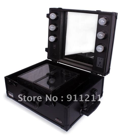 makeup professional aluminum cosmetic with