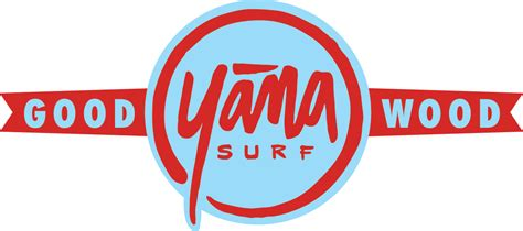 Stickers Red Bull Surf by Yana Logo Sticker With Good Wood Tagline Yana Surf