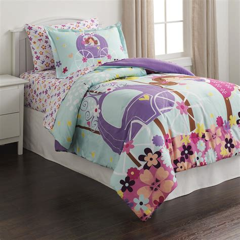 piper girl s twin comforter set owl crown home bed