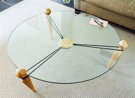 coffee table uses bareppa coffee table uses mere tension to keep its parts