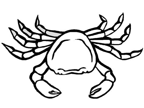 Crab Coloring Pages Crab Colouring Pages
