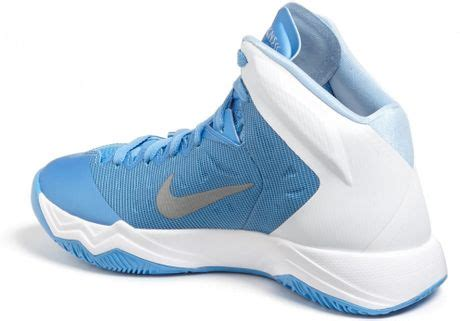 womens nike hyper quickness basketball shoes nike hyper quickness tb basketball shoe in blue