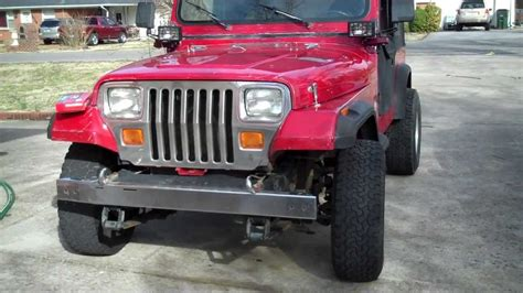 1990 jeep wrangler filter jeep wrangler yj 4 0 changing the air filter