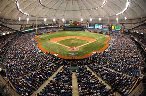 tropicana field facts and figures ta bay rays