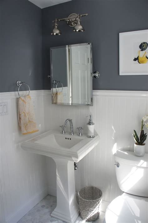 Wainscoting Ideas Bathroom by Best 25 Wainscoting Bathroom Ideas On Half