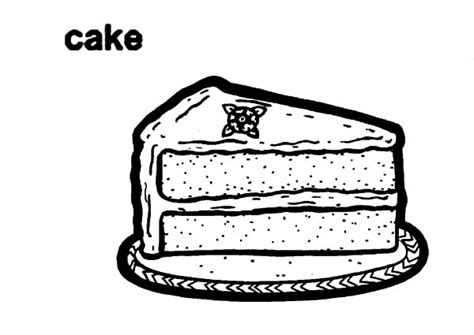 chocolate cake coloring page chocolate cake clipart black and white www pixshark com