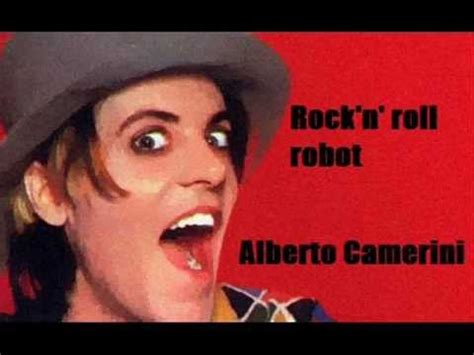 rock n roll robot testo quot rock n roll robot quot alberto camerini 1981 by giusy