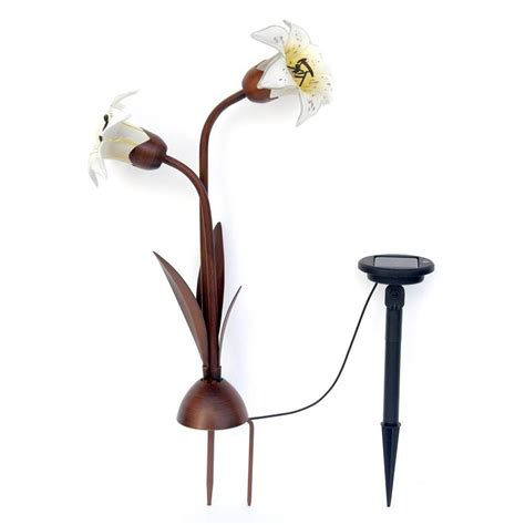Trendscape Solar Lights Trendscape 2 Light Solar Bronze Easter Light Nxt 8117