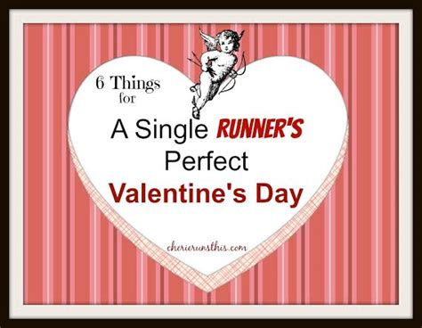 6 things for a single runner s s day