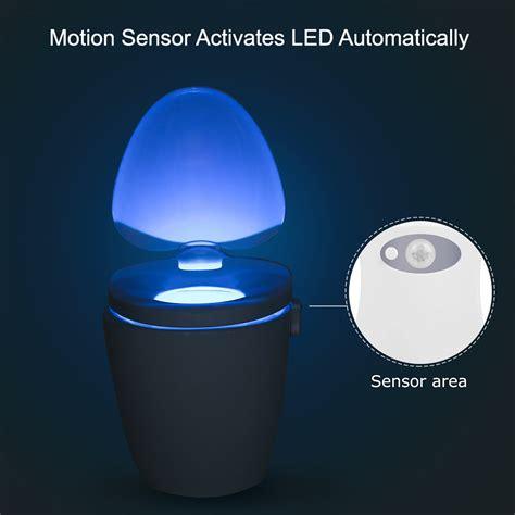 toilet seat with led lights smart toilet seat bowl led motion sensor light l