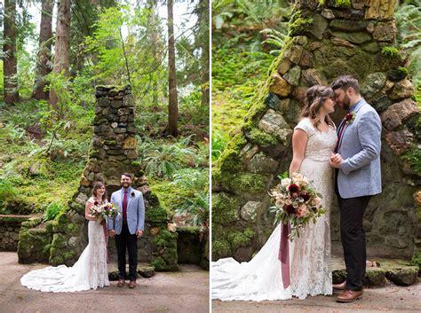 Leach Botanical Garden Wedding Leach Botanical Garden Wedding Portland Oregon Josh