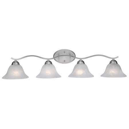 trans globe lighting tempthree light bath light fixture trans globe lighting 2828 bn brushed nickel four light