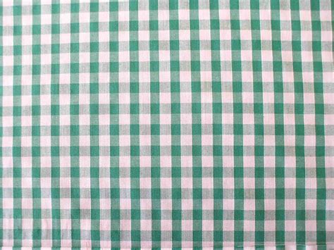 gingham upholstery fabric 1 4 gingham quality polycotton fabric in green