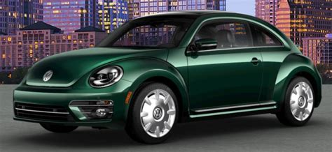 green volkswagen beetle 2018 volkswagen beetle color options