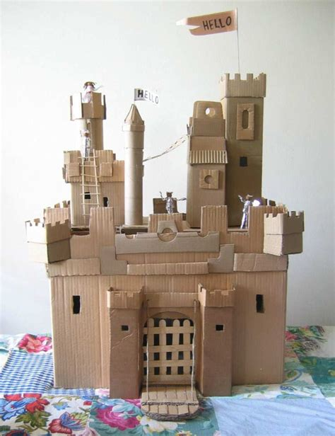 How To Make A Paper Castle - best 25 cardboard castle ideas on cardboard